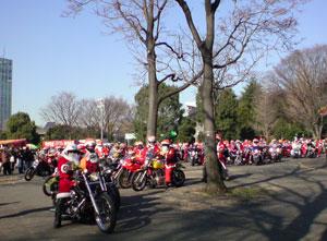 125台のバイク