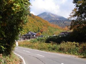 八甲田山と酸ヶ湯温泉