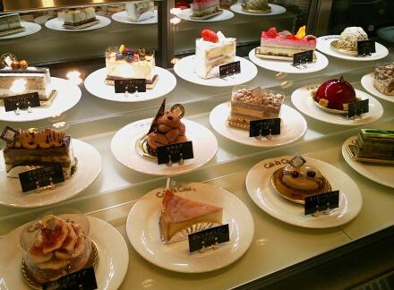 ベルグのケーキ